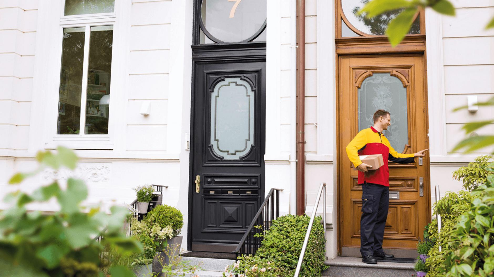 Not home? we'll be back! | DHL Parcel